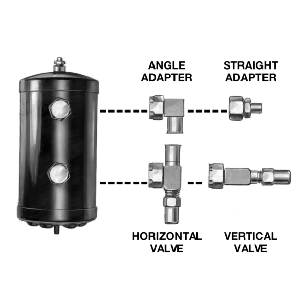Receivers – For Rotalock Fittings Image 1