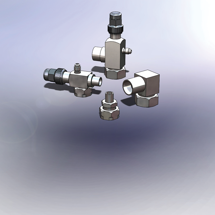 Valves and Adapters (Rotalock)